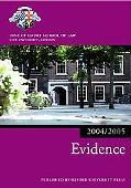 Bar Manual Evidence, 2004-2005