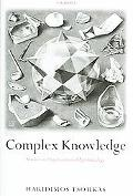 Complex Knowledge Studies in Organizational Epistemology