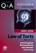 Law Of Torts 2005-2006 2005 - 2006