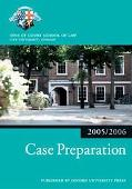 Case Preparation (Blackstone Bar Manual)