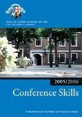 Bar Manual: Conference Skills 2005/6