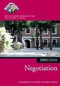 Bar Manual Negotiations, 2005-2206