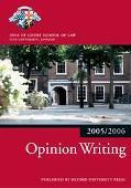 Opinion Writing 2005/2006