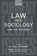 Law And Sociology Current Legal Issues 2005