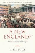 New England? Peace And War 1886-1918