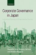 Corporate Governance in Japan Institutional Change and Organizational Diversity