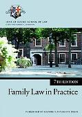 Family Law in Practice Inns of Court School of Law Institute of Law, City University, London