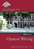Opinion Writing 2006/2007