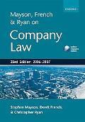 Mayson, French & Ryan on Company Law 2006-2007