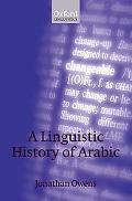 Linguistic History of Arabic