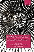 Properties of Law Essays in Honour of Jim Harris