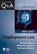 Employment Law 2006-2007