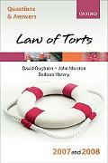 Q and A, Law of Torts 2007-2008
