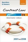 Law of Contract 2007 - 2008