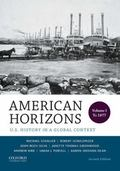 American Horizons : Volume 1: To 1877