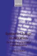 Syntactic Change in Akkadian