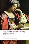 Early Modern Womens Writing