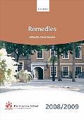 Remedies 2008-2009
