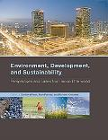 Environment, Development, and Sustainability: perspectives and cases from around the world