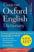 Concise Oxford English Dictionary: Dictionary and CD-ROM set, 11th edition, Revised