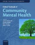 Oxford Textbook of Community Mental Health Online (Oxford Textbooks in Psychiatry)