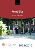 Remedies 2009-2010 (Bar Manuals)