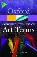 Concise Dictionary of Art Terms