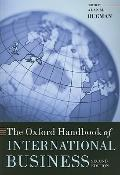 Oxford Handbook of International Business