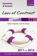 Q and A Law of Contract 2011 and 2012