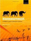 Biomeasurement: A Student's Guide to Biostatistics