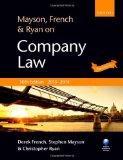 Mayson, French & Ryan on Company Law: 2013-2014 Edition