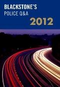 Blackstone's Police QandA 2012
