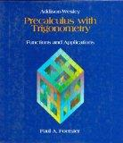 Pre Calculus With Trigonometry