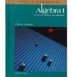 Algebra 1: Expressions, Equations, and Applications