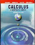 Calculus A Complete Course