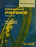 Conceptual Physics 3rd ed. Next Time Questions