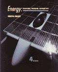 Energy Principles, Problems, Alternatives