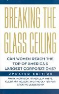 Breaking the Glass Ceiling Can Women Reach the Top of America's Largest Corporations