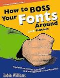 How to Boss Your Fonts Around A Primer on Font Technology and Font Management on the Macintosh