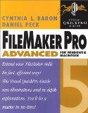 FileMaker Advanced 5 Visual QuickPro Guide For Windows and Macintosh