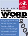 Word 2001 for Macintosh Visual Quickstart Guide