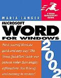 Word 2002 for Windows
