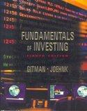 Fundamentals of Investing with Internet Guide for Finance (8th Edition)