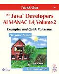 Java Developers Almanac 1.4 Examples and Quick Reference
