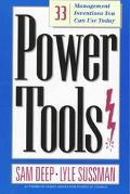 Power Tools 33 Management Inventions You Can Use Today