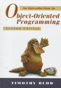 Intro.to Object-oriented Programming