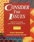 Consider the Issues Advanced Listening and Critical Thinking Skills