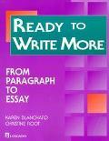 READY TO WRITE MORE (P)