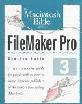 Then MacIntosh Bible Guide to FileMaker Pro 3 - Charles Rubin - Paperback