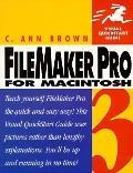 FileMaker Pro 3 for MacIntosh (Visual QuickStart Guide)